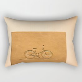 i like to ride my bicycle  Rectangular Pillow