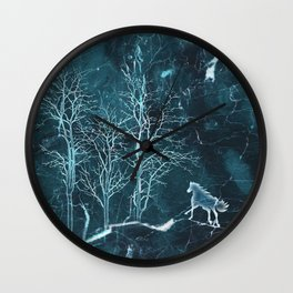 Marble Scenery Wall Clock