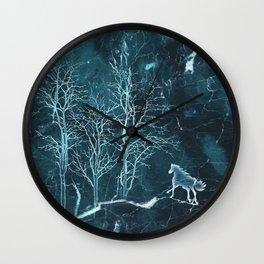 Marble Scenery Wall Clock