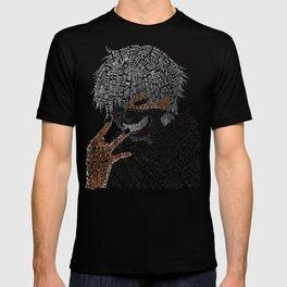 Kaneki Typography T-shirt
