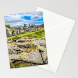 Rhos Quarry Cottages Snowdonia Stationery Cards