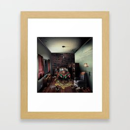 Sweet Dreaming Framed Art Print