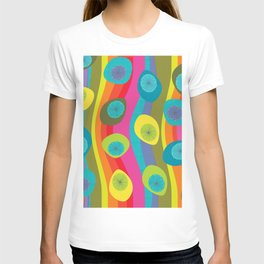 Groovy Retro Waves T-shirt