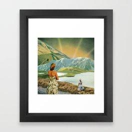 The Beginning or The End Framed Art Print