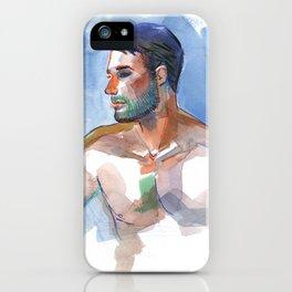 MATT, Semi-Nude Male by Frank-Joseph iPhone Case