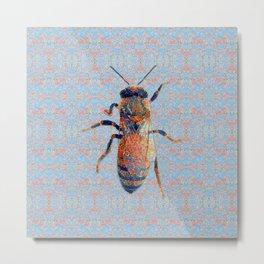 Bee Variation 06 Metal Print