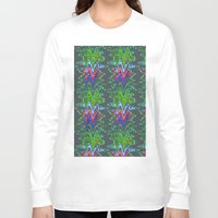 gradient Long Sleeve T-shirts featuring Gradient Ink by lalaprints