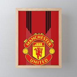 MUFC Framed Mini Art Print