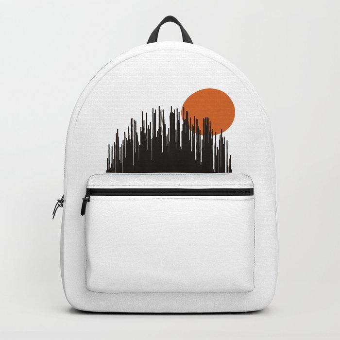 Sunset Skyline Backpack