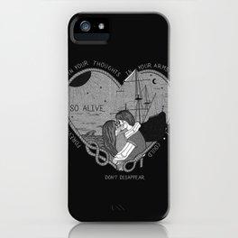 """So alive"" by Ryan Adams iPhone Case"