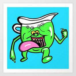 Ecto Kool-Aid Man Art Print