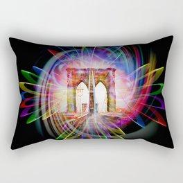 Abstract perfektion - Brooklyn Bridge Rectangular Pillow
