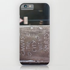 Canvas the City with Smiles Slim Case iPhone 6s