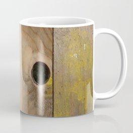 OLD WOODEN BOARD  Coffee Mug