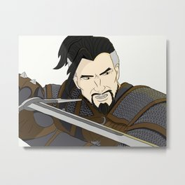 Witcher Hanzo Metal Print