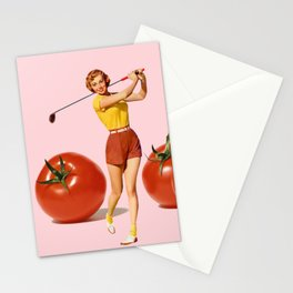 The Golfer Stationery Cards