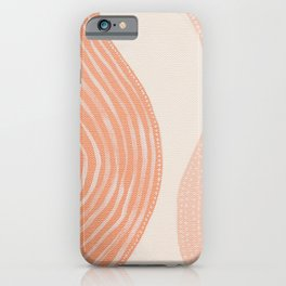 Abstract painting 7 - lines, shapes and dots iPhone Case