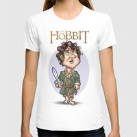 the hobbit T-shirts featuring The Hobbit by Roberto Núñez