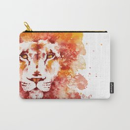 PRIDE (Water colour Lion) Carry-All Pouch