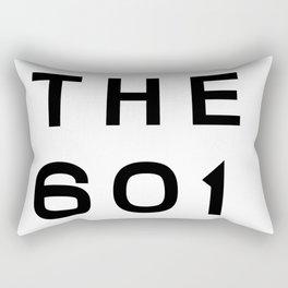 601 Mississippi Area Code Typography Rectangular Pillow
