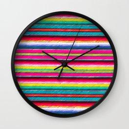 Serape II Wall Clock
