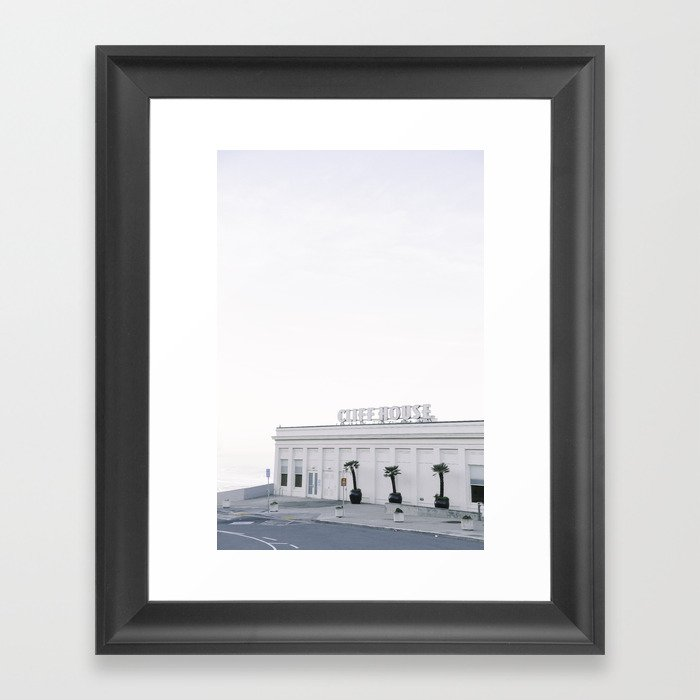 Calm Morning at the San Francisco Cliff House Gerahmter Kunstdruck