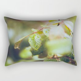 Autumn Rain Rectangular Pillow