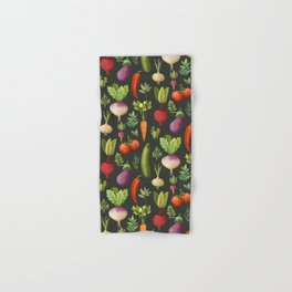 Garden Veggies Hand & Bath Towel