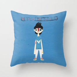 """Bimbiminkia"" - Killer Throw Pillow"
