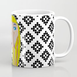 Blonde Girl Coffee Mug