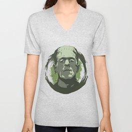 Horror Monster | Frankenstein Unisex V-Neck