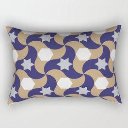 Geometric arabic pattern Rectangular Pillow