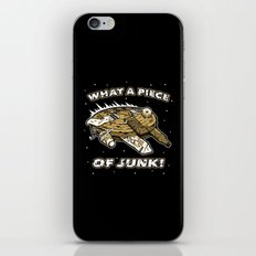What a Piece of Junk! iPhone & iPod Skin