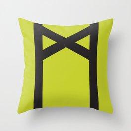 Showtasting - Rune 7 Throw Pillow