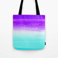 WHEN PURPLE MET BLUE Tote Bag