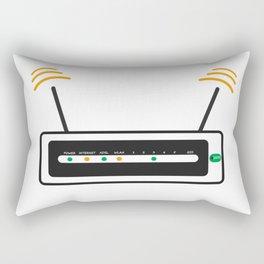 Router Rectangular Pillow