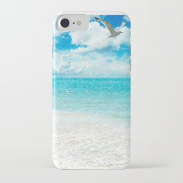 Sunny Day at the Beach iPhone Case