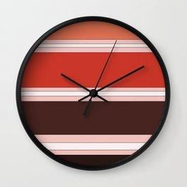 Orange-cicle Wall Clock