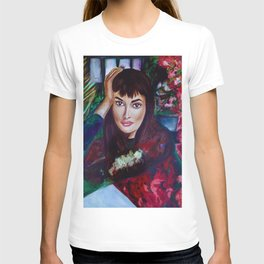 isolation - floral greenhouse T-shirt