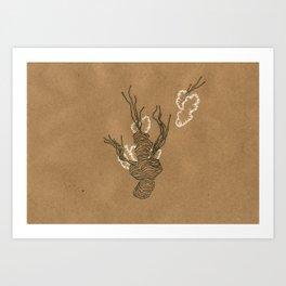Biomorph 5 Art Print