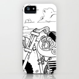 Once Upon a Time a Sunset  iPhone Case