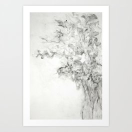 Vase of daffodil Art Print