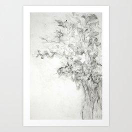 Vase of daffodil Art Print