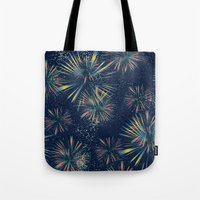 fireworks Tote Bags featuring Fireworks! by LLL Creations