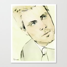 Arrow Portrait Series: Oliver Queen Canvas Print