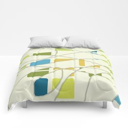 Flying Circles Comforters