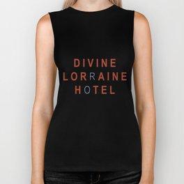 Divine Lorraine Hotel Biker Tank