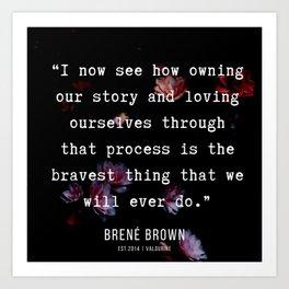 28   | Brene  Brown Quotes  | 190717 | Art Print
