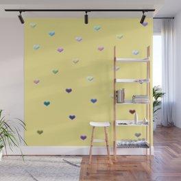 Hearty pattern Wall Mural