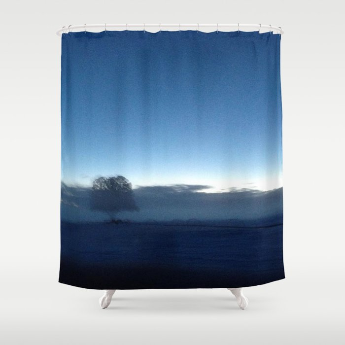 Ghosts After Discovering That I'm Not Dead Shower Curtain